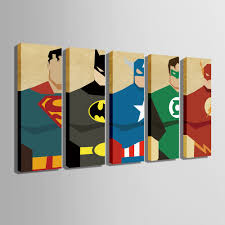 superman home decor hd superman posters canvas art print painting poster print wall