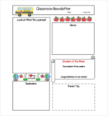 free newsletter template u2013 9 free word pdf documents download