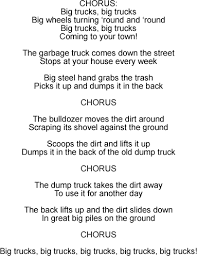 big trucks song lyrics and sound clip