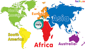 Italy Political Map by Map Of The World Italy You Can See A Map Of Many Places On The