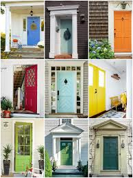 100 door colors for red brick houses trim on brick