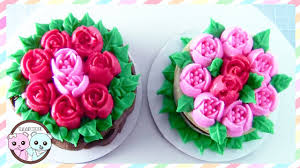 russian piping tips rose cake tulip cake sugarcoder youtube