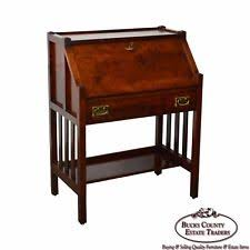 Antique Slant Top Desk Worth Antique Mission Desk Ebay