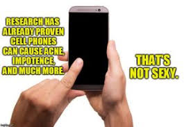 Meme Cell Phone - a meme cell phone not sexy 3