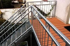 balkon mit treppe verzinkter balkonbau mit treppe ronald meyer metallbau stahlbau