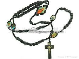 catholic rosary necklace wood rosary rosary necklace catholic rosry china manufacturer