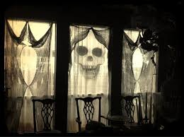 spooky decorations 35 ideas to decorate windows with silhouettes on