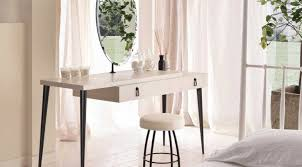 table contemporary dressing table mirror canada glamorous
