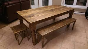 table de cuisine en bois de grange home decorating ideas