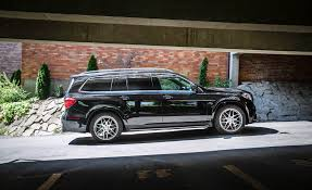 mercedes gls interior 2017 mercedes amg gls63 in depth model review car and driver