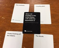 cards against humanity where to buy in store cards against humanity creator says he wants to buy congress