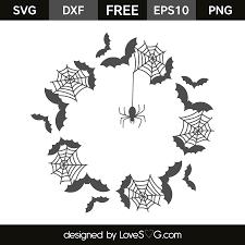 halloween frame png halloween monogram frame lovesvg com
