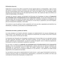colombia libro de lectura grado 6 cuadernillo de actividades fortalecimiento de la comprension lector