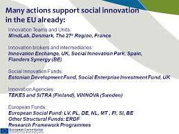 erdf si e social european commission enterprise and industry social innovation how