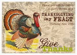 thanksgiving invitations free templates if you want 2 be happy freebie