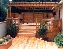 outdoor deck privacy screen best tub privacy ideas on patio
