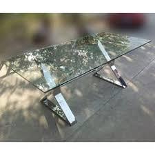 bureau table verre table bureau en inox et verre transparent odyssée bureau