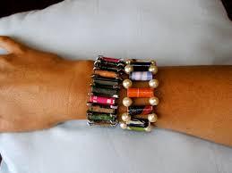 hipster u0027s tea party rolled magazine bracelets eco craft