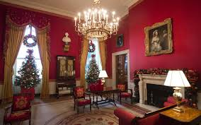 Red Room by The White House Holiday Decorations For The Obama Family U0027s Last