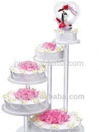 buy wedding cake 5 tier clear acrylic wedding cake stand buy wedding cake stand 5