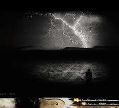 White Charcoal Lightning Drawing Album On Imgur
