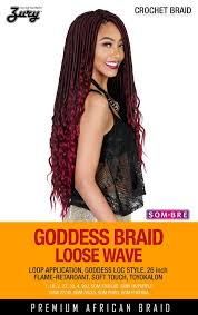 crochet braid hair zury goddess braid wave synthetic braiding hair crochet