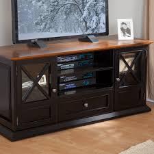 Black Tv Cabinet With Drawers Belham Living Hampton Tv Stand Black Oak Hayneedle