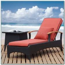 Lounge Patio Chair Furniture Exciting Teak Chaise Lounge Outdoor With White Seating