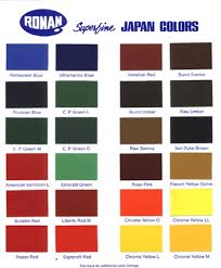 ronan paints superfine japan colors decoy paints decoy