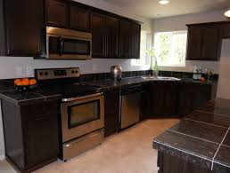 Black Kitchen Cabinets by Black Kitchen Cabinets With Granite Video And Photos