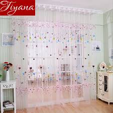 Balloon Curtains For Living Room Balloon Curtains Window Screen Voile Yarn Room