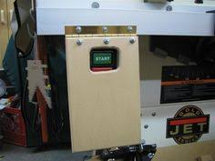 table saw safety switch unisaw kick switches to build pinterest fences