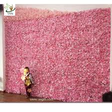wedding backdrop china uvg cheap wedding backdrop design plastic grid artificial flower