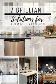 7 brilliant solutions for a small kitchen arts and classy