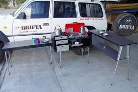 camper camper trailer kitchens drifta camping u0026 4wd