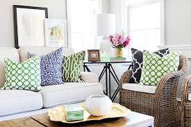 Green Living Room by Navy Blue And Green Living Room Pillow Covers White Stone Couch