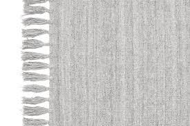 sheridan ingham flat weave fringe rug