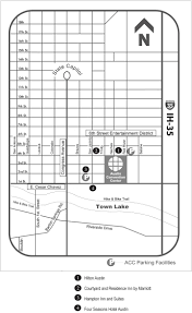 Austin Convention Center Map by Experience Austin Nisod