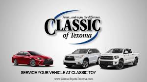 classic toyota service at classic toyota of texoma youtube