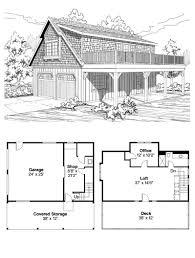 loft garage plans garage plan 59475 total living area 838 sq ft garage area