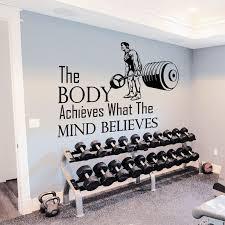 home gym wall decor beautiful ideas home gym wall decor best 25 on pinterest basement