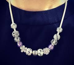 pandora silver necklace charms images Pandora necklace with charms pandora soccer ball pandora chain jpg