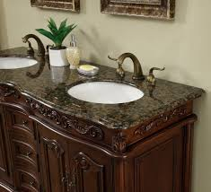 Antique Style Bathroom Vanities by 60 Inch Antique Style Double Sink Bathroom Vanity Cabinet With