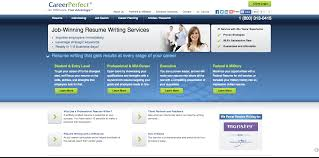 military resume writing services resume writing services compare the top resume services careerperfect review