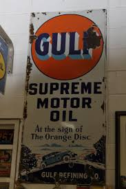 vintage gulf logo 159 best signs images on pinterest gas station gas pumps and