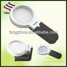magnifier with led light 10 led light magnifying glass reading magnifier loupe led