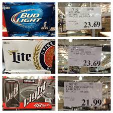how much is a 36 pack of bud light the costco connoisseur get super bowl ready with costco
