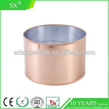round copper wire drawing pvc lamp shade buy copper lamp shade