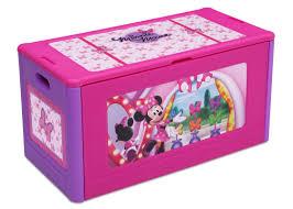 Disney Toy Organizer Delta Children Disney U0027 Minnie Mouse Toy Box U0026 Reviews Wayfair