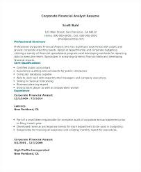 financial planning and analysis resume examples sample resume of financial analyst sample resume sample resume